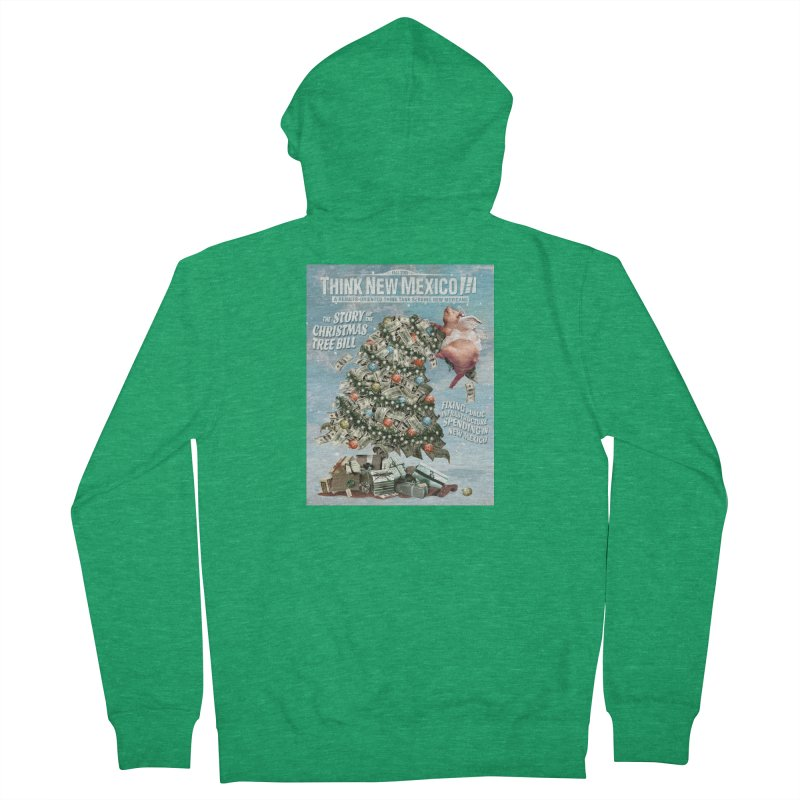 Think New Mexico Fall 2016 Capital Outlay Reform Report Cover Men's Zip-Up Hoody by Think New Mexico's Artist Shop