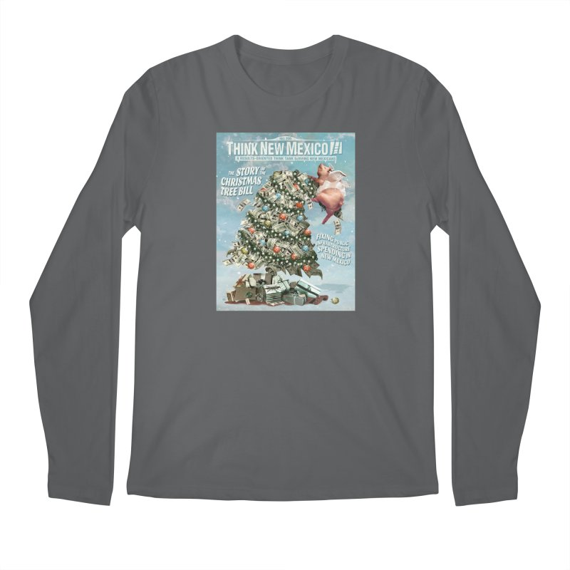 Think New Mexico Fall 2016 Capital Outlay Reform Report Cover Men's Longsleeve T-Shirt by Think New Mexico's Artist Shop