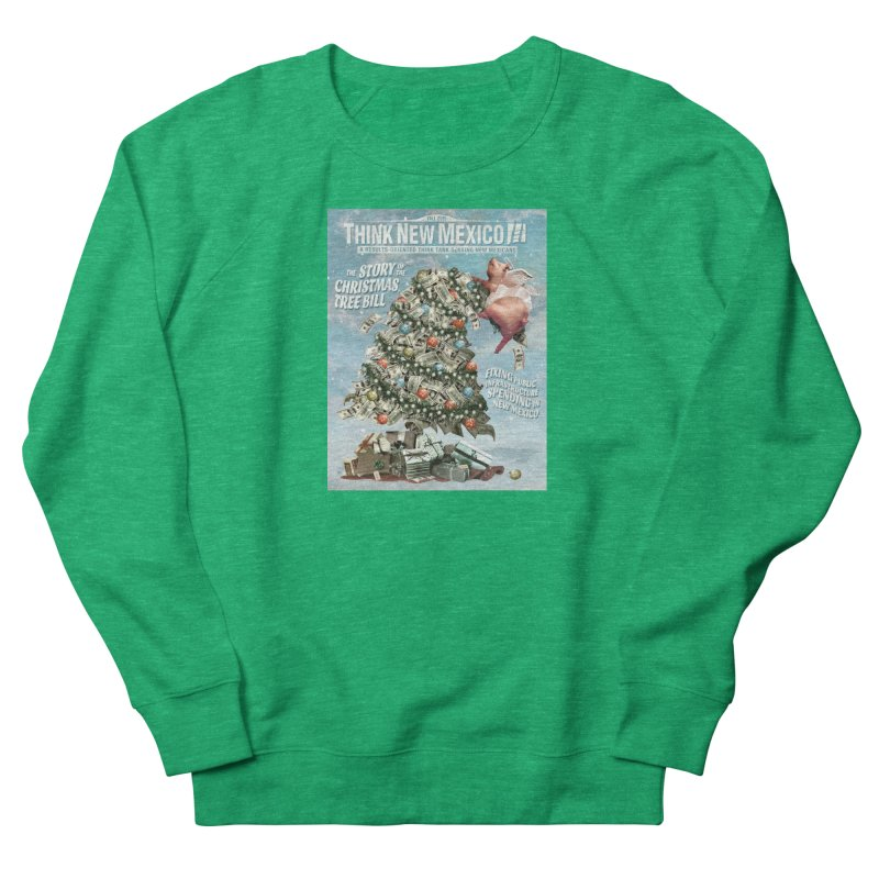 Think New Mexico Fall 2016 Capital Outlay Reform Report Cover Women's Sweatshirt by Think New Mexico's Artist Shop