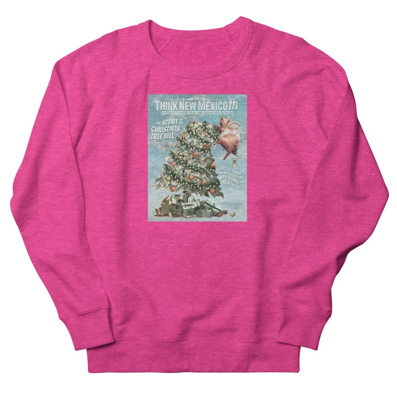 Think New Mexico Fall 2016 Capital Outlay Reform Report Cover Men's Sweatshirt by Think New Mexico's Artist Shop
