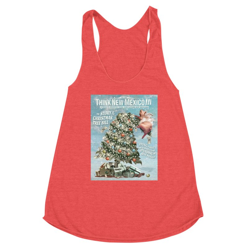 Think New Mexico Fall 2016 Capital Outlay Reform Report Cover Women's Tank by Think New Mexico's Artist Shop
