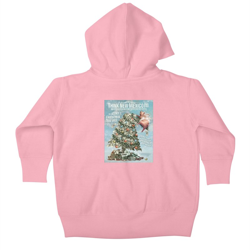 Think New Mexico Fall 2016 Capital Outlay Reform Report Cover Kids Baby Zip-Up Hoody by Think New Mexico's Artist Shop