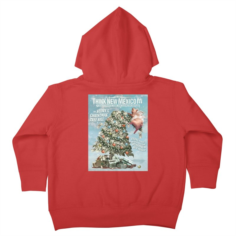 Think New Mexico Fall 2016 Capital Outlay Reform Report Cover Kids Toddler Zip-Up Hoody by Think New Mexico's Artist Shop