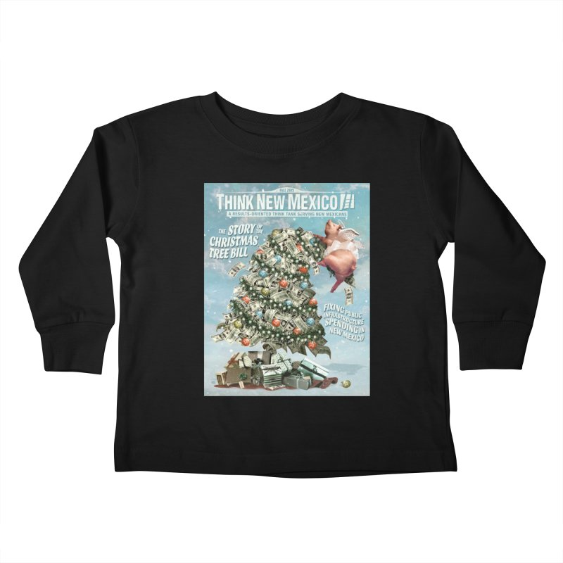 Think New Mexico Fall 2016 Capital Outlay Reform Report Cover Kids Toddler Longsleeve T-Shirt by Think New Mexico's Artist Shop