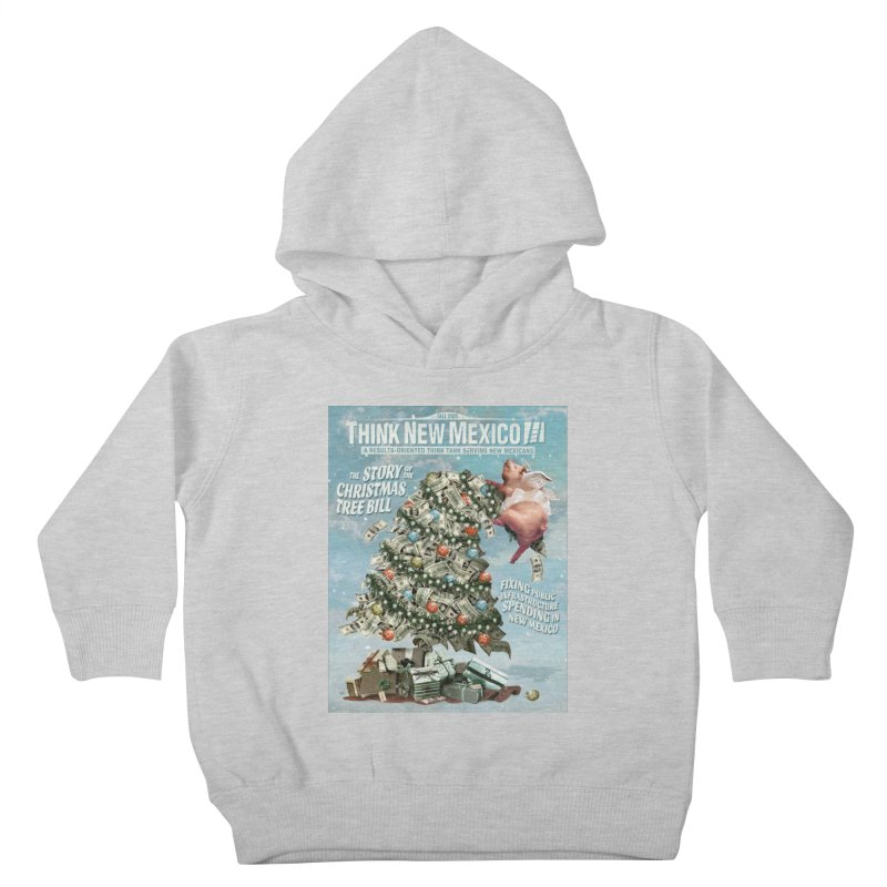 Think New Mexico Fall 2016 Capital Outlay Reform Report Cover Kids Toddler Pullover Hoody by Think New Mexico's Artist Shop