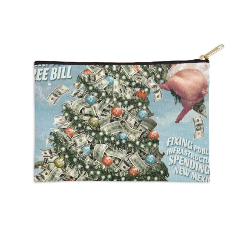 Think New Mexico Fall 2016 Capital Outlay Reform Report Cover Accessories Zip Pouch by Think New Mexico's Artist Shop