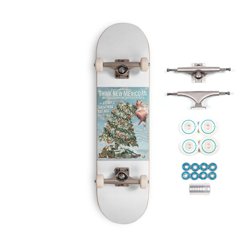 Think New Mexico Fall 2016 Capital Outlay Reform Report Cover Accessories Skateboard by Think New Mexico's Artist Shop