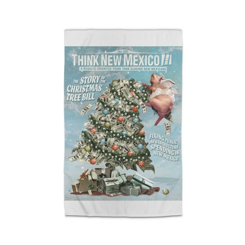 Think New Mexico Fall 2016 Capital Outlay Reform Report Cover Home Rug by Think New Mexico's Artist Shop