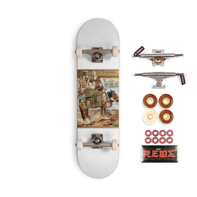 """Think New Mexico Fall 2011 Report Cover """"Rethinking the PRC"""" Accessories Skateboard by Think New Mexico's Artist Shop"""