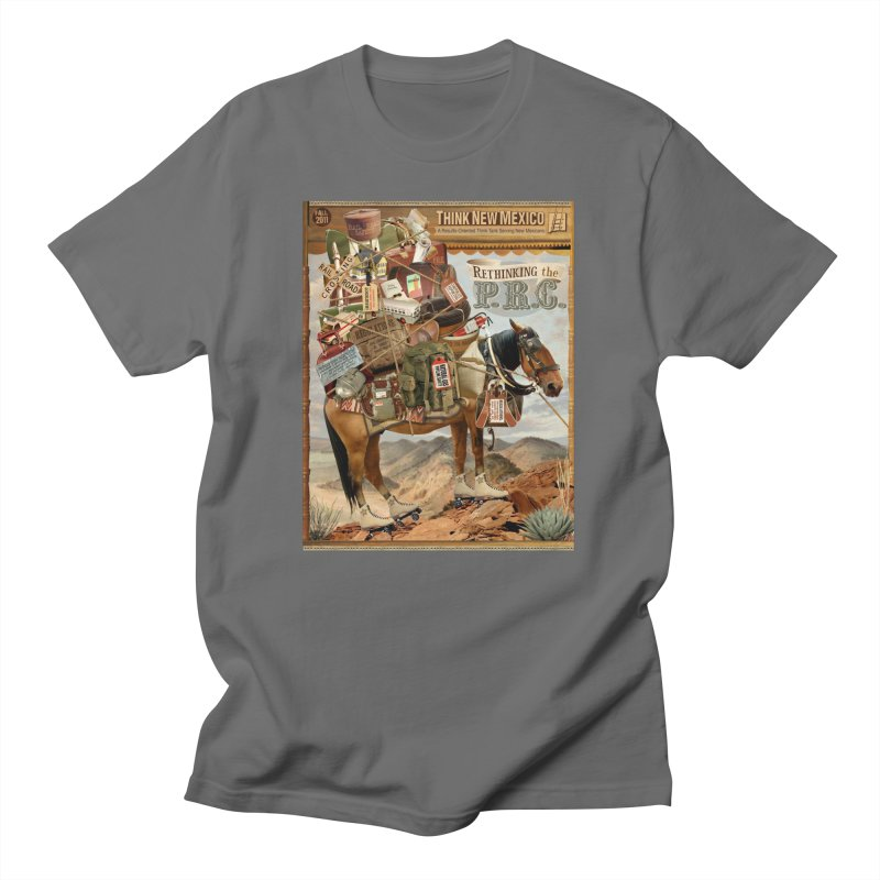 """Think New Mexico Fall 2011 Report Cover """"Rethinking the PRC"""" Men's T-Shirt by Think New Mexico's Artist Shop"""