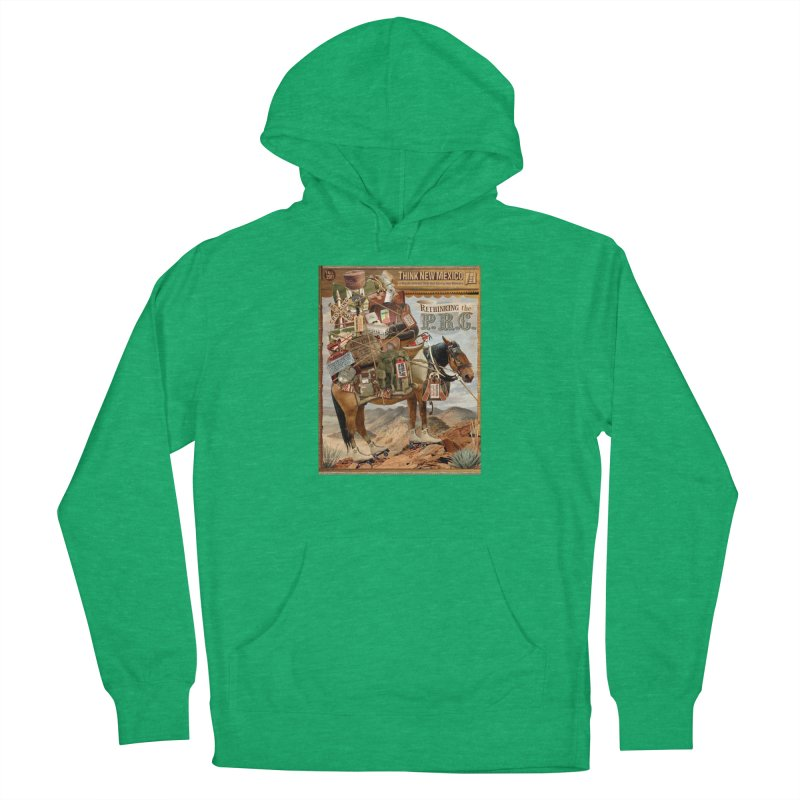 """Think New Mexico Fall 2011 Report Cover """"Rethinking the PRC"""" Women's Pullover Hoody by Think New Mexico's Artist Shop"""