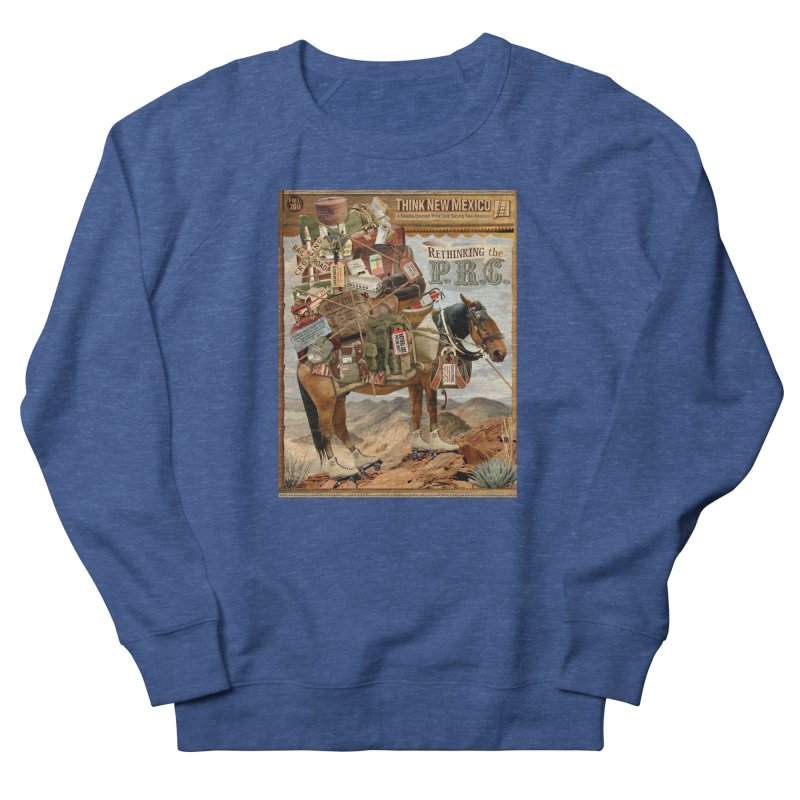 """Think New Mexico Fall 2011 Report Cover """"Rethinking the PRC"""" Women's Sweatshirt by Think New Mexico's Artist Shop"""