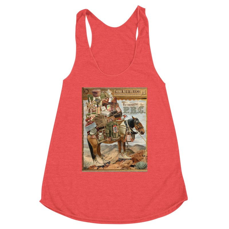 """Think New Mexico Fall 2011 Report Cover """"Rethinking the PRC"""" Women's Tank by Think New Mexico's Artist Shop"""
