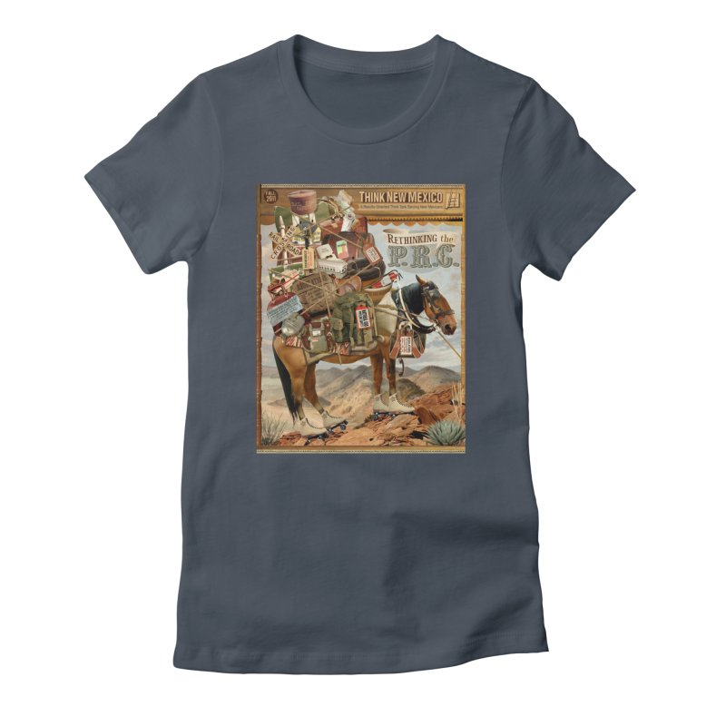"""Think New Mexico Fall 2011 Report Cover """"Rethinking the PRC"""" Women's T-Shirt by Think New Mexico's Artist Shop"""