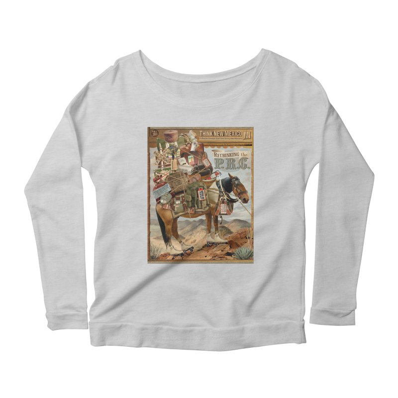 """Think New Mexico Fall 2011 Report Cover """"Rethinking the PRC"""" Women's Longsleeve T-Shirt by Think New Mexico's Artist Shop"""