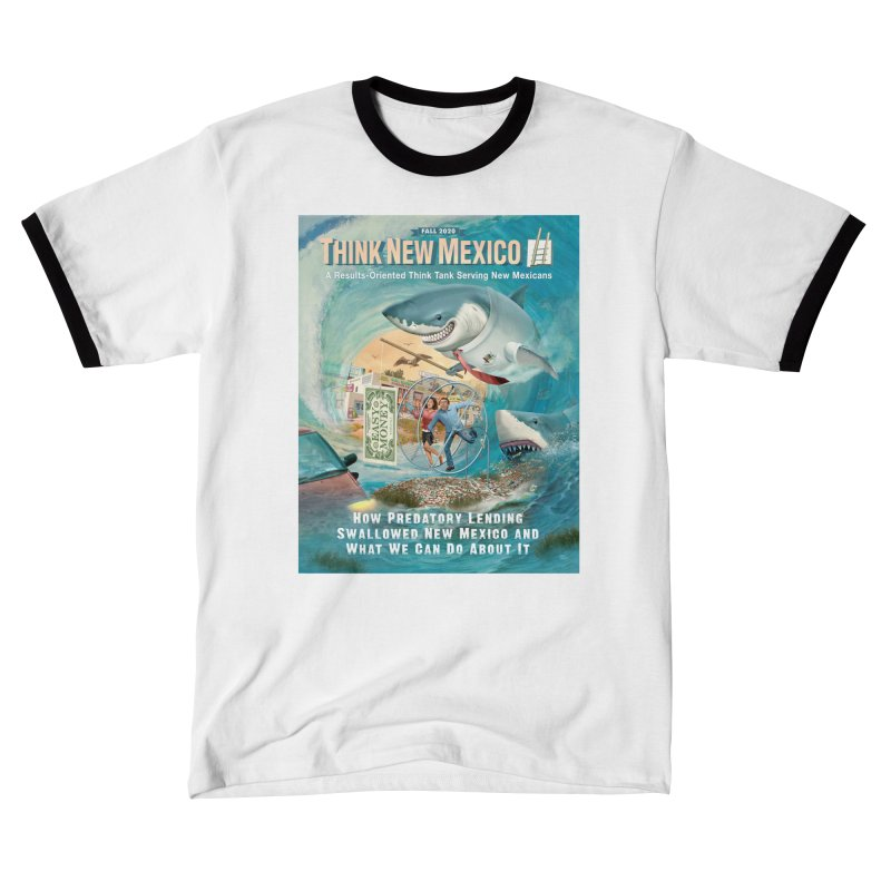 Predatory Lending Report Cover Women's T-Shirt by Think New Mexico's Artist Shop