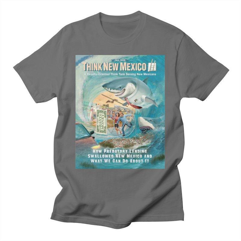 Predatory Lending Report Cover Men's T-Shirt by Think New Mexico's Artist Shop