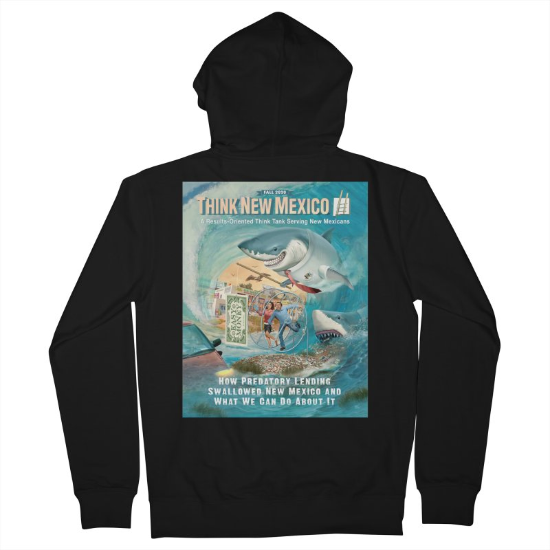 Predatory Lending Report Cover Women's Zip-Up Hoody by Think New Mexico's Artist Shop
