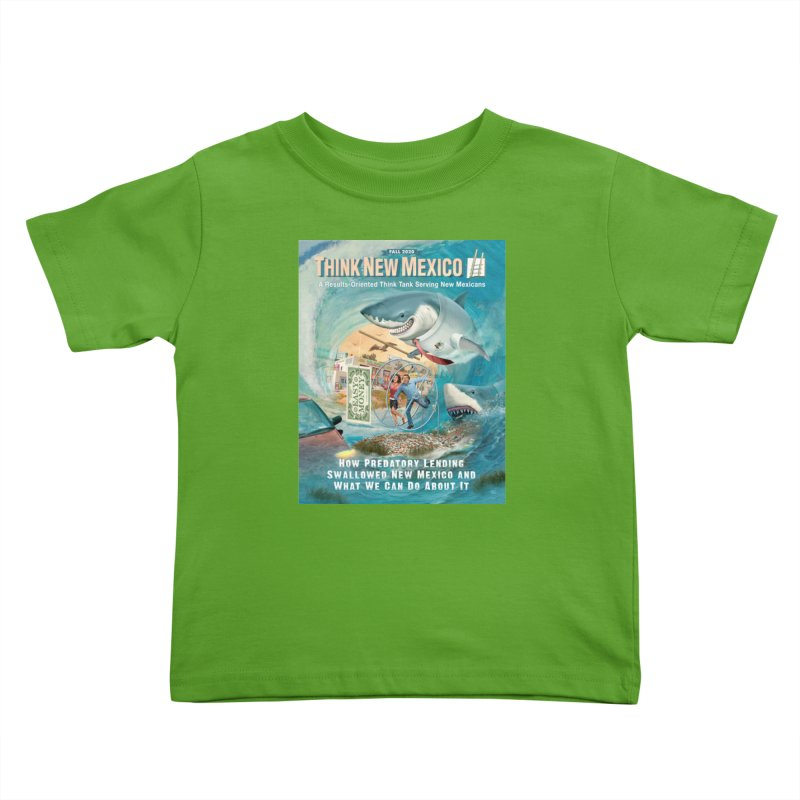Predatory Lending Report Cover Kids Toddler T-Shirt by Think New Mexico's Artist Shop