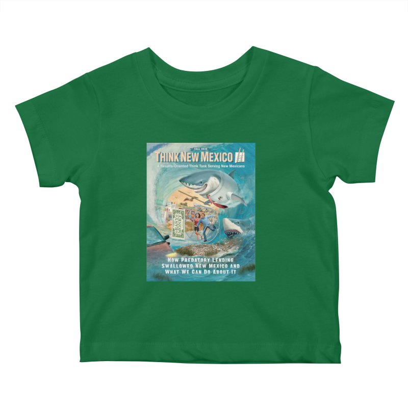 Predatory Lending Report Cover Kids Baby T-Shirt by Think New Mexico's Artist Shop