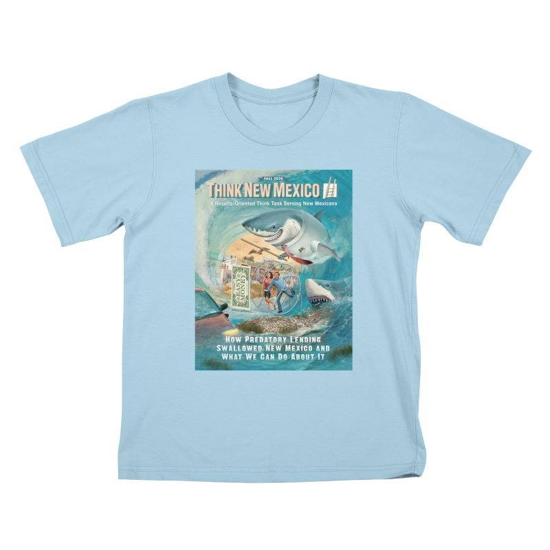 Predatory Lending Report Cover Kids T-Shirt by Think New Mexico's Artist Shop