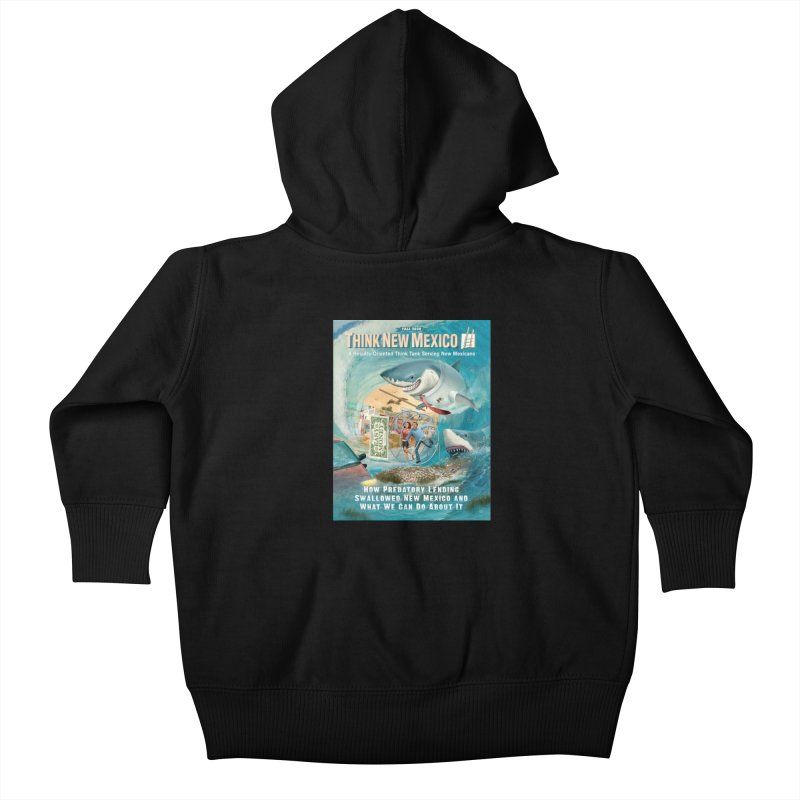 Predatory Lending Report Cover Kids Baby Zip-Up Hoody by Think New Mexico's Artist Shop