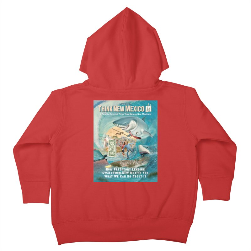 Predatory Lending Report Cover Kids Toddler Zip-Up Hoody by Think New Mexico's Artist Shop