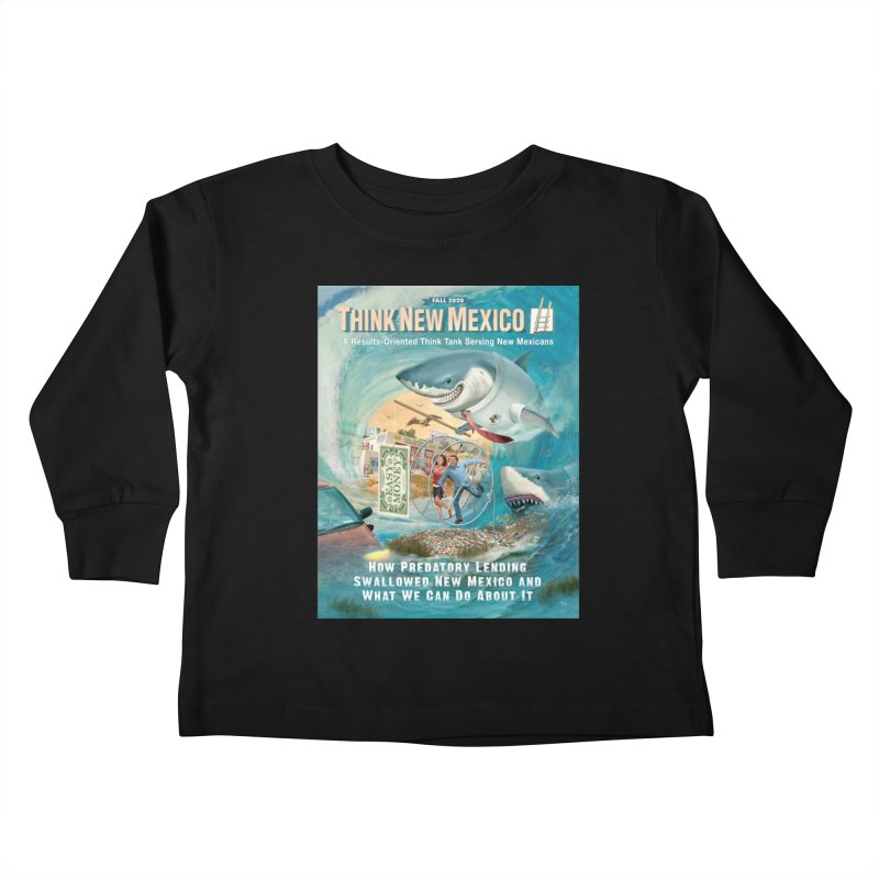 Predatory Lending Report Cover Kids Toddler Longsleeve T-Shirt by Think New Mexico's Artist Shop