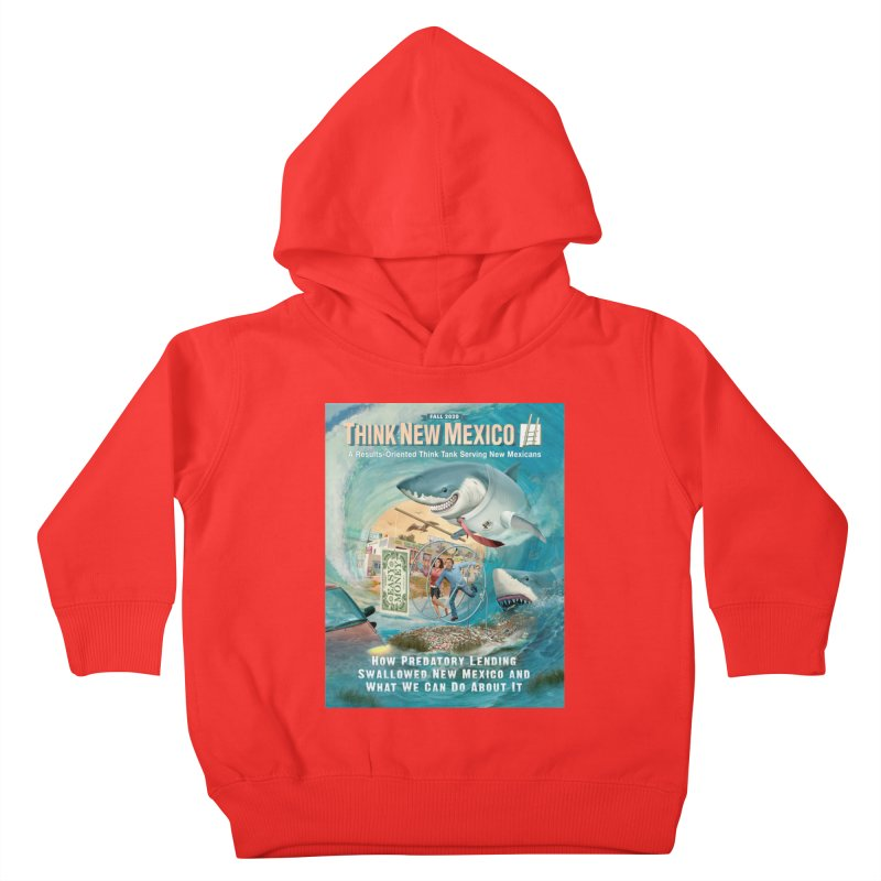 Predatory Lending Report Cover Kids Toddler Pullover Hoody by Think New Mexico's Artist Shop
