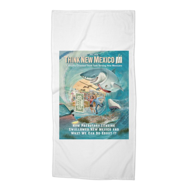 Predatory Lending Report Cover Accessories Beach Towel by Think New Mexico's Artist Shop