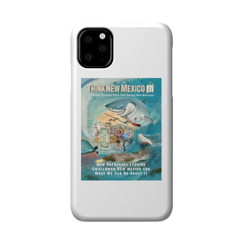 Predatory Lending Report Cover Accessories Phone Case by Think New Mexico's Artist Shop