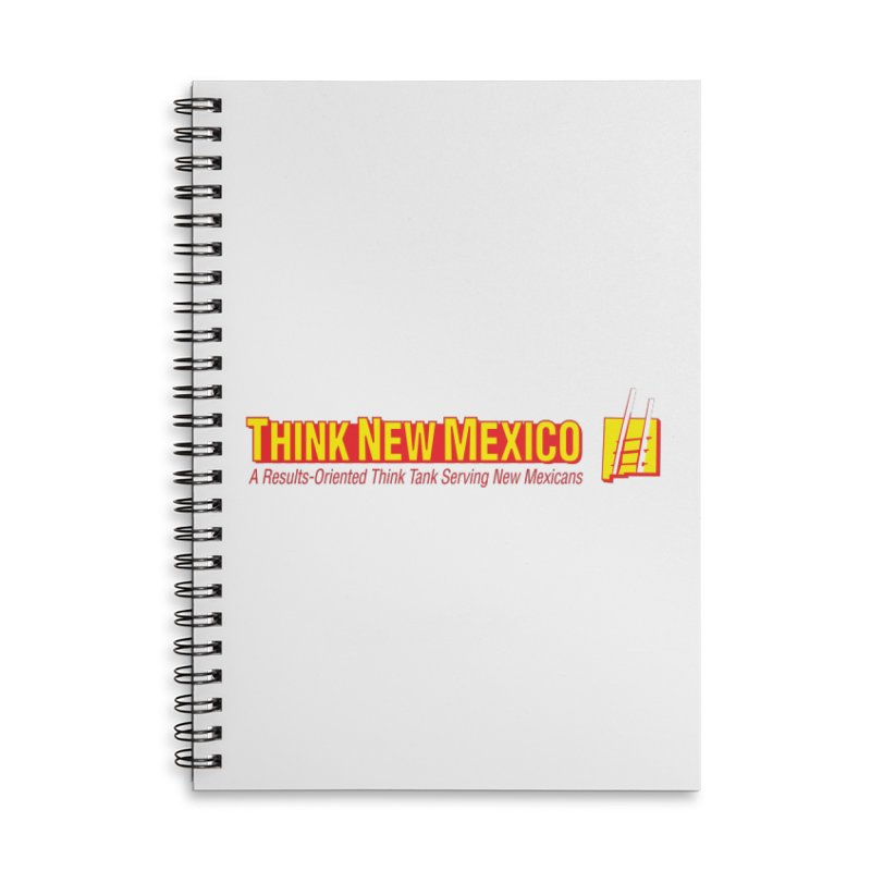 Think New Mexico Accessories Lined Spiral Notebook by Think New Mexico's Artist Shop