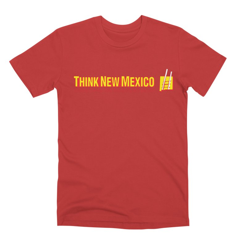 Think New Mexico Men's Premium T-Shirt by Think New Mexico's Artist Shop
