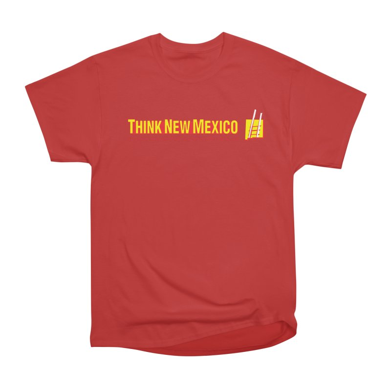 Think New Mexico Men's Heavyweight T-Shirt by Think New Mexico's Artist Shop