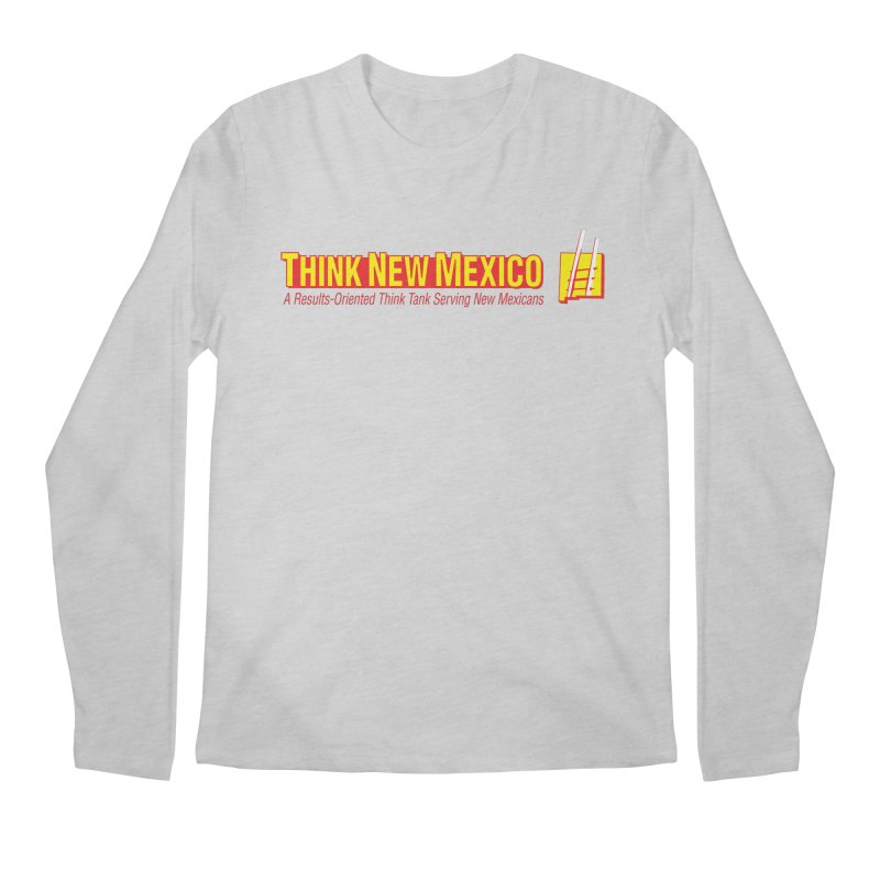 Think New Mexico Men's Regular Longsleeve T-Shirt by Think New Mexico's Artist Shop