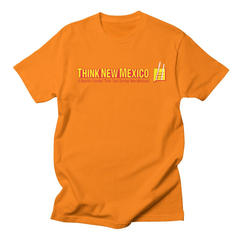 Think New Mexico Men's Regular T-Shirt by Think New Mexico's Artist Shop