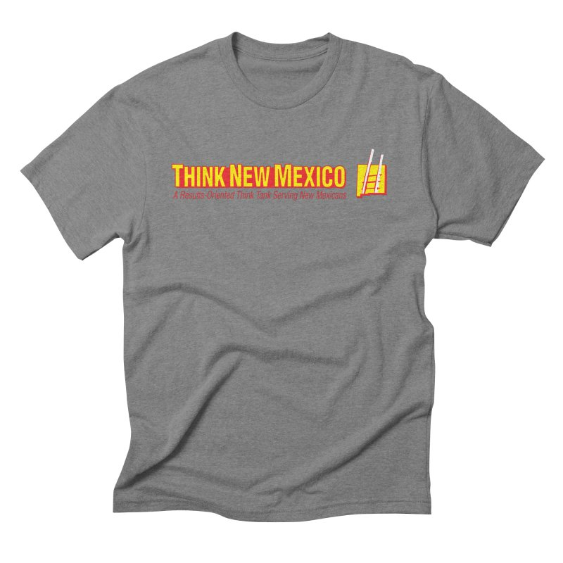 Think New Mexico Men's Triblend T-Shirt by Think New Mexico's Artist Shop