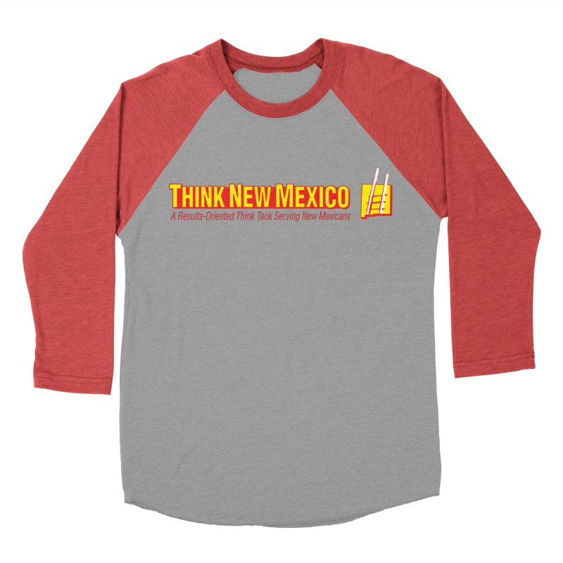 Think New Mexico Women's Baseball Triblend Longsleeve T-Shirt by Think New Mexico's Artist Shop