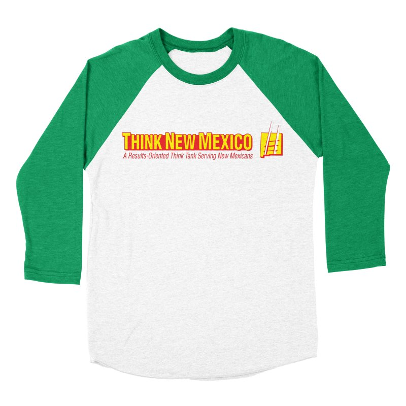 Think New Mexico Men's Baseball Triblend Longsleeve T-Shirt by Think New Mexico's Artist Shop