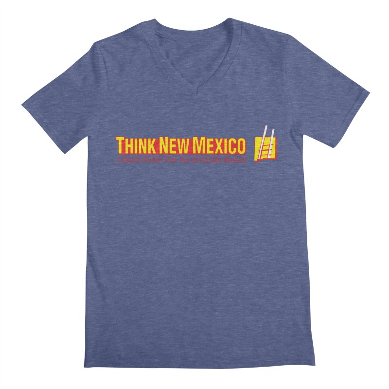 Think New Mexico Men's Regular V-Neck by Think New Mexico's Artist Shop