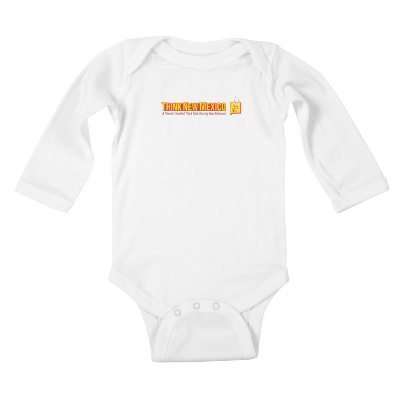 Think New Mexico Kids Baby Longsleeve Bodysuit by Think New Mexico's Artist Shop