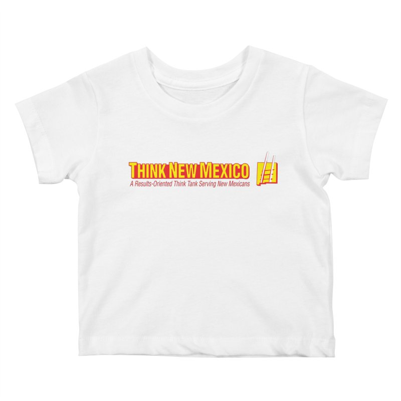 Think New Mexico Kids Baby T-Shirt by Think New Mexico's Artist Shop