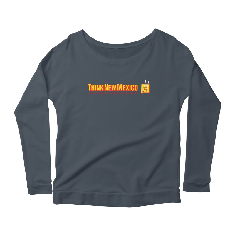 Think New Mexico Women's Scoop Neck Longsleeve T-Shirt by Think New Mexico's Artist Shop