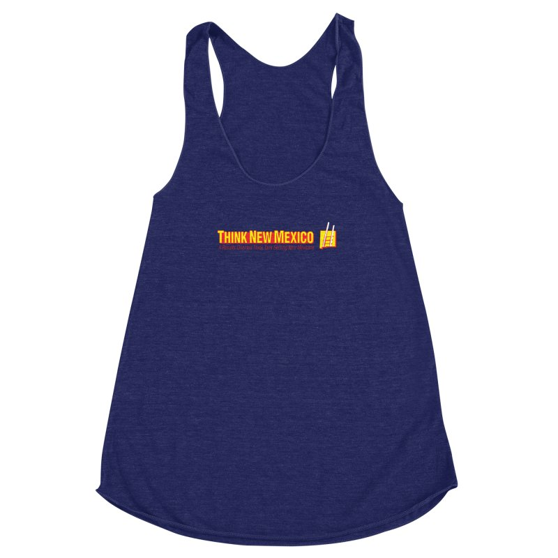Think New Mexico Women's Racerback Triblend Tank by Think New Mexico's Artist Shop