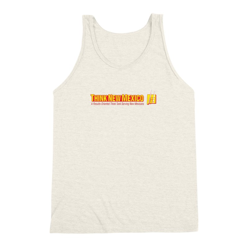 Think New Mexico Men's Triblend Tank by Think New Mexico's Artist Shop