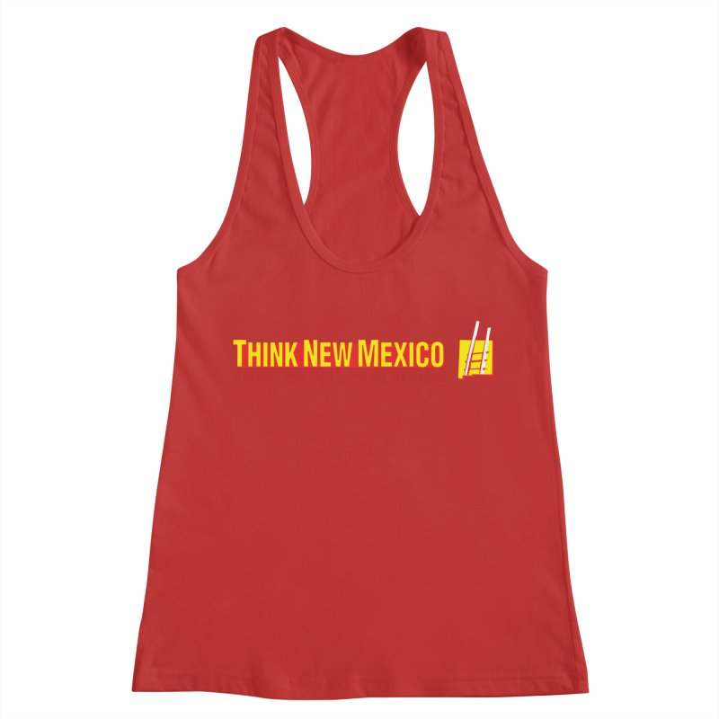 Think New Mexico Women's Racerback Tank by Think New Mexico's Artist Shop