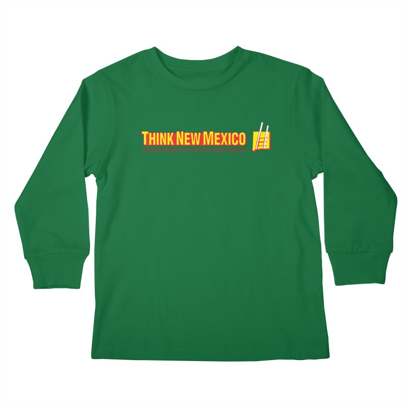 Think New Mexico Kids Longsleeve T-Shirt by Think New Mexico's Artist Shop