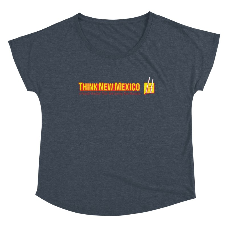 Think New Mexico Women's Scoop Neck by Think New Mexico's Artist Shop