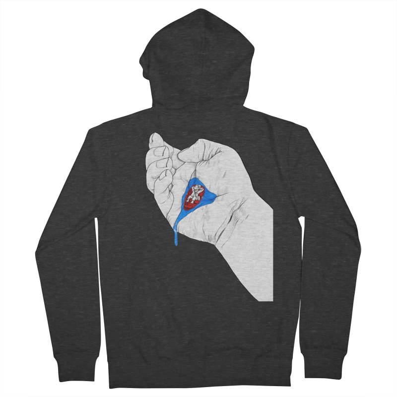 God is Steady Men's Zip-Up Hoody by Thinkoffbeat / The COUP Shirt Shop