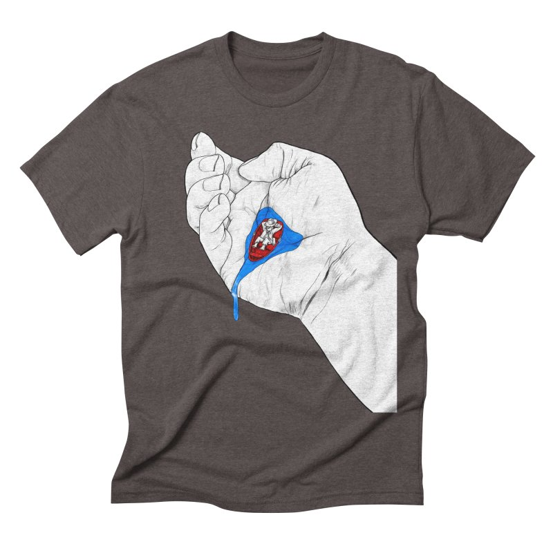 God is Steady Men's Triblend T-shirt by Thinkoffbeat / The COUP Shirt Shop